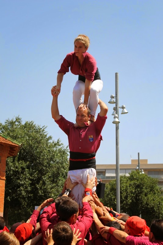 Castells Catalans Want to vote 8-06-14 - IMG_2001.JPG