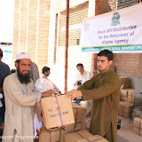 Hygiene Kits distribution at Akakhel Embarkation Point