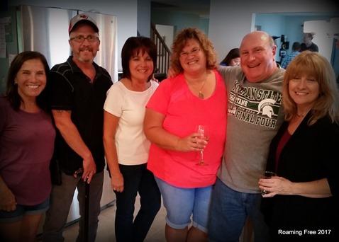 Joanne, Jim, Janet, and Maria