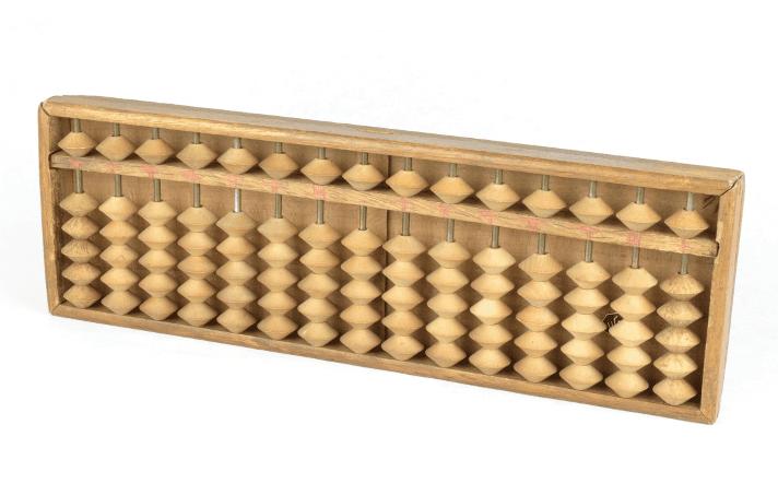 Modelo de ábaco japonés