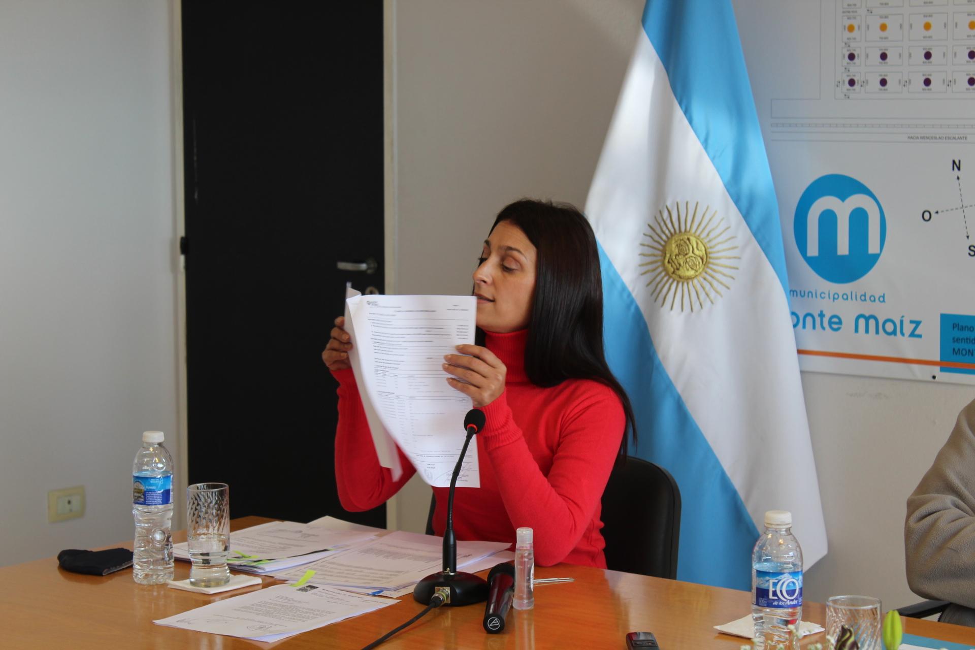 Secretaria de Haciendas y Finanzas Vanesa Pascual