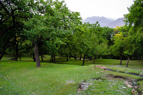Beautiful garden of Altit Fort