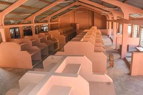 Kilifi governor Amason Kingi opens Kwajiwa market in Malindi. PHOTO | MUM