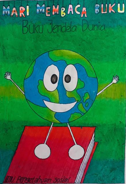20 Contoh Gambar Poster Pendidikan untuk Anak SD dan SMP ...