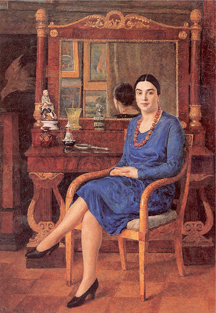 Ilya Mashkov - Lady in Blue