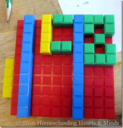 Math U See Blocks at Homeschooling Hearts & Minds