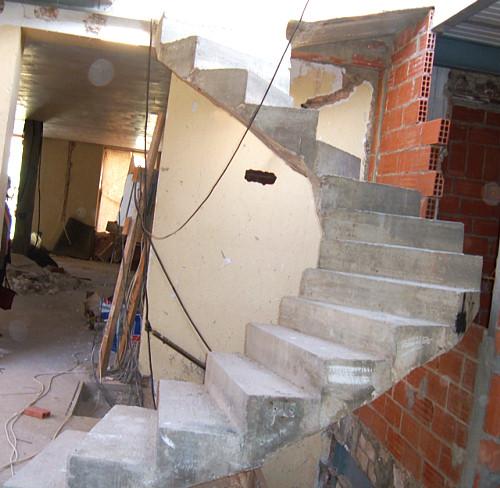 Encofrados estructuras y cimentaciones - Escaleras de obra ...