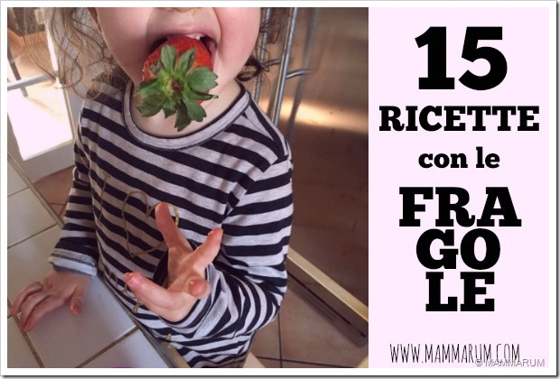 RICETTE fRAGOLE bambini