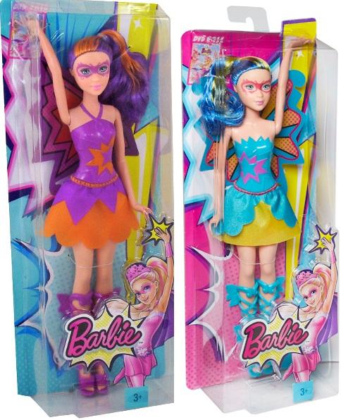 Sản phẩm Búp bê Siêu nhân mặt nạ Barbie in Princess Power CDY65