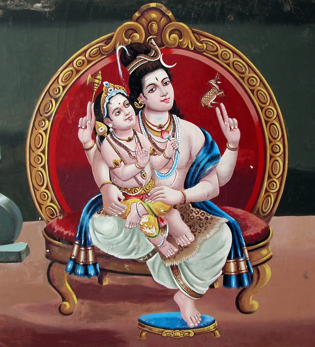 The Birth Of Skanda (Kumara) - Sri Ramanin Padhayil