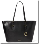 Lauren Ralph Lauren Saffiano Leather Tote