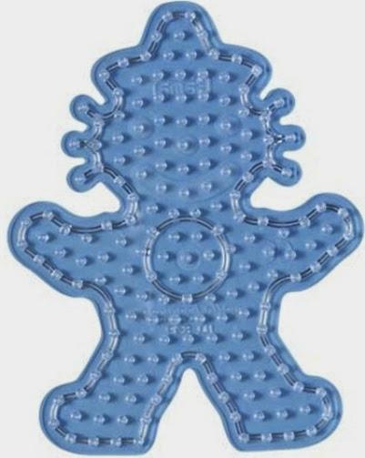 Khuôn hình Chú Hề trong bộ đồ chơi xếp hình Hama 8917 Clown Starter Kit