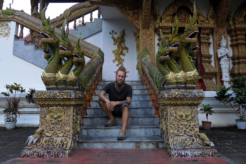 Tony at Wat Buppharam