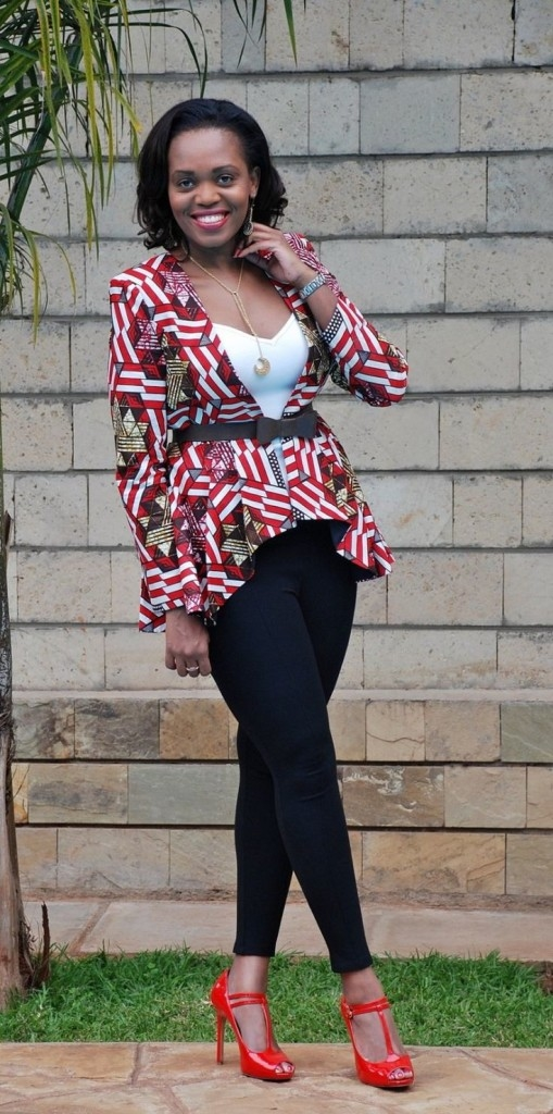 Beautiful Ankara Jacket Outfit Styles 2016 2017 Fashionte