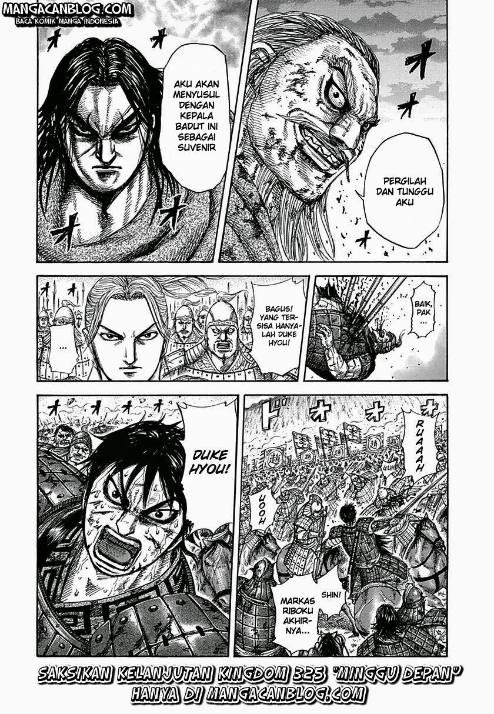 Baca Manga Kingdom Chapter 324 Komik Station
