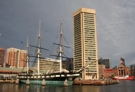 Inner Harbor Ship