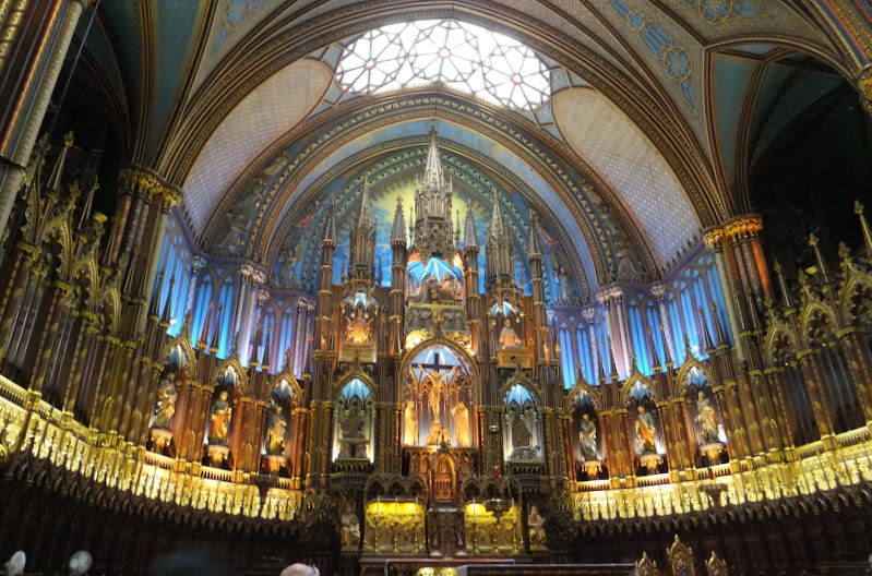 Notre Dame, Montreal, Quebec, Canada, elisaorigami, travel, blogger, voyages, lifestyle