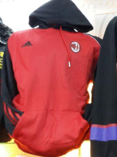 Jual Hoodie AC Milan Warna Merah