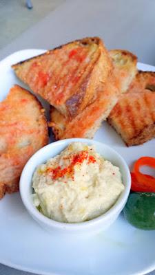 Shift Bruschetta - Paamb Tomaquet with garlic, fresh tomato, salt