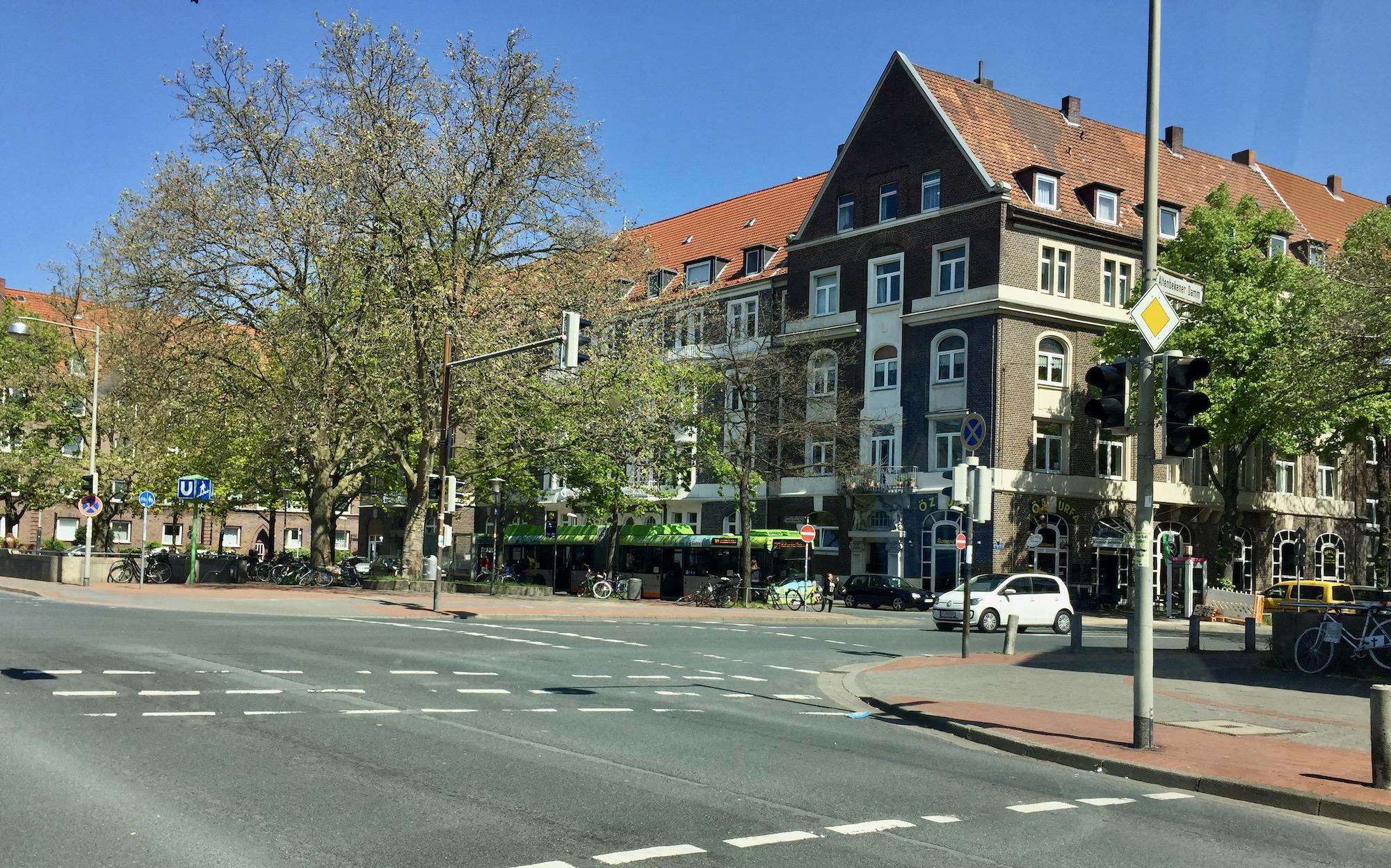 Bauarbeiten Hildesheimer Straße mit Sperrungen