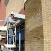 Silane/siloxane masonry water repellents can be applied to mortar joints as well.