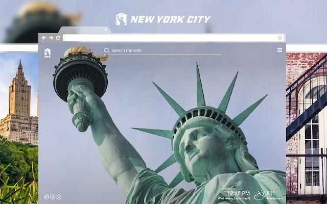 New York City HD Wallpapers New Tab Theme