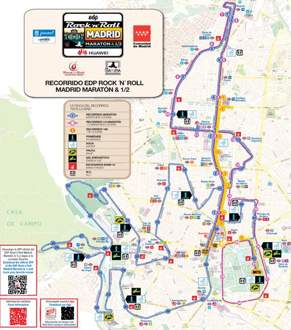 En la línea 2 de Metro por el Maratón Madrid 2016