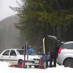 Skis de randonnée nordique aujourd'hui , talons libres pour toute la journée