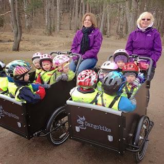 Småkottarna Uppsala lastcyklar