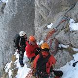 Fotos de Curso de Alpinismo-Corredores da EGAM en abril de 2012.