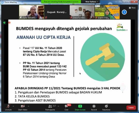 Waspada!  BUMDes Dianggap Ilegal jika Belum Daftar Menjadi Badan Hukum sampai Tanggal 22 Februari 2022