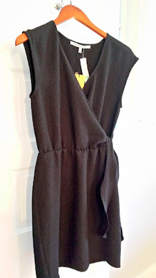 December 2015 Stitch Fix item of Collective Concepts black Vickie Textured Dress