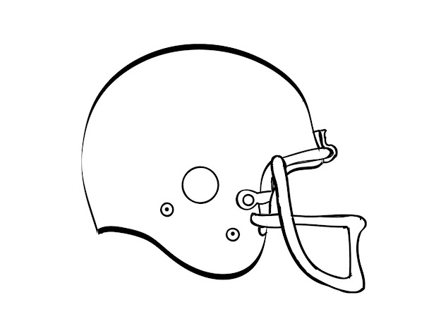 Viewing Gallery For  College Football Coloring Pages