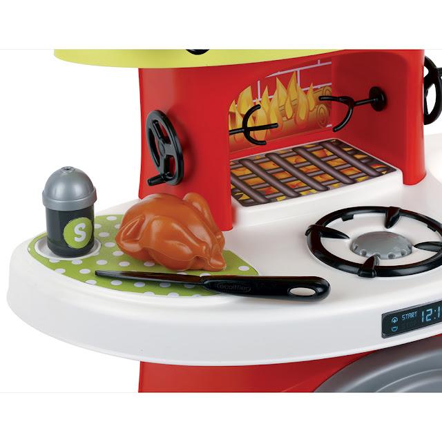 Bộ bếp nướng Rô Ti Ecoiffier Eco 1765