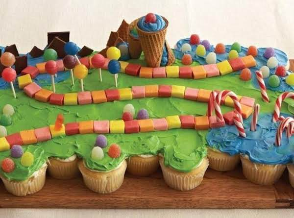 Candyland Pull Apart Cupcakes Recipe