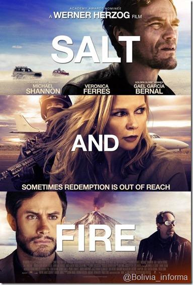 """""""Salt and Fire"""" (2016), película filmada en el Salar de Uyuni"""