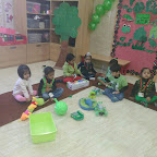 Green Colour Day For Nursery at Witty World (29.11.2016)