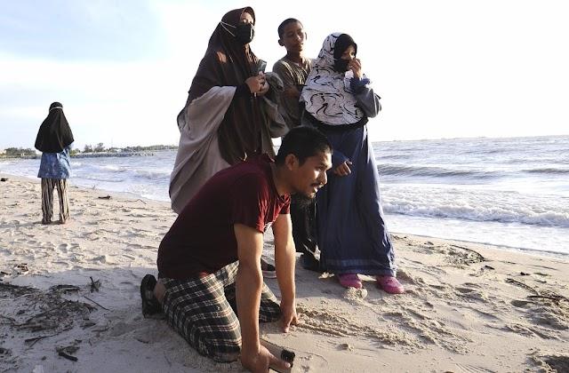 Sambutan hari lahir di pantai berakhir tragedi