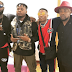 Nigerians react, Wizkid performs at Olamide's concert