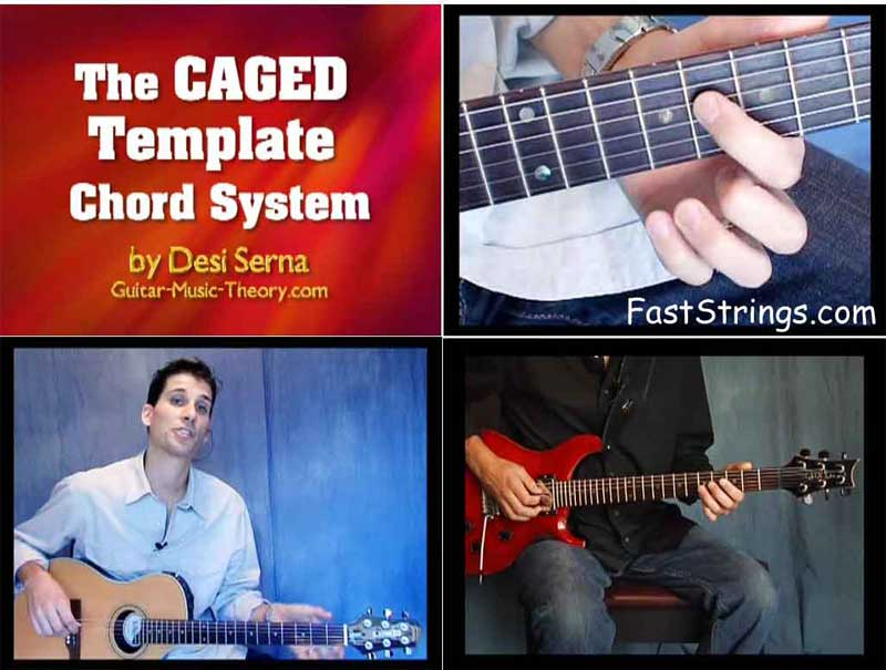 Desi Serna Caged Template Chord System Download