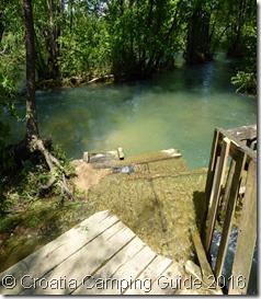 Croatia Camping Guide - Beware Fast Flowing Water