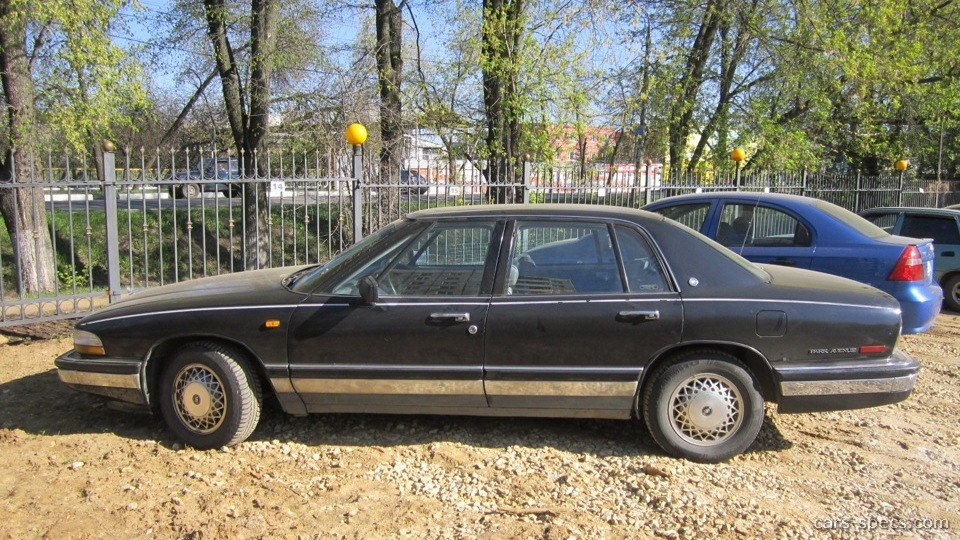 1994 buick park avenue sedan specifications pictures prices. Black Bedroom Furniture Sets. Home Design Ideas
