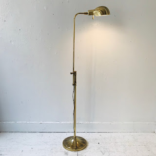 Stiffel Vintage Brass Floor Lamp
