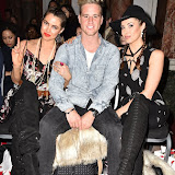 OIC - ENTSIMAGES.COM - Eloise Anderson, Ben Hazelwood  and Sophie Anderson at the  LFW a/w 2016: Fashion International - catwalk show in London 20th February 2016 Photo Mobis Photos/OIC 0203 174 1069