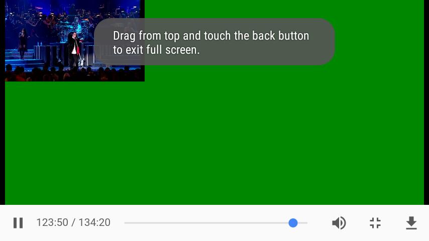 Full screen error on google chrome (Android 6 0) - Google