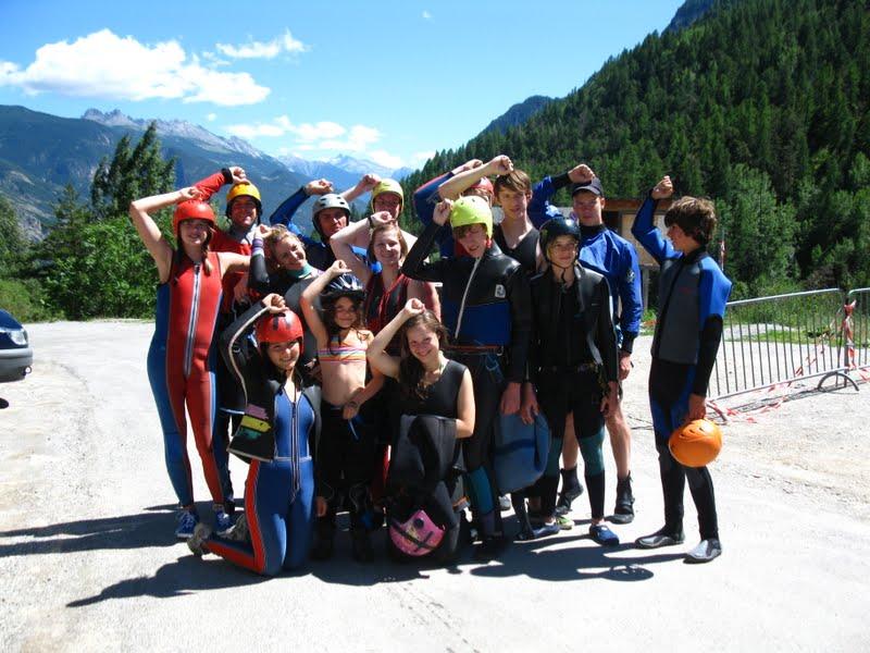 03.08.2011 Kajak & Kletterfreizeit Durcance