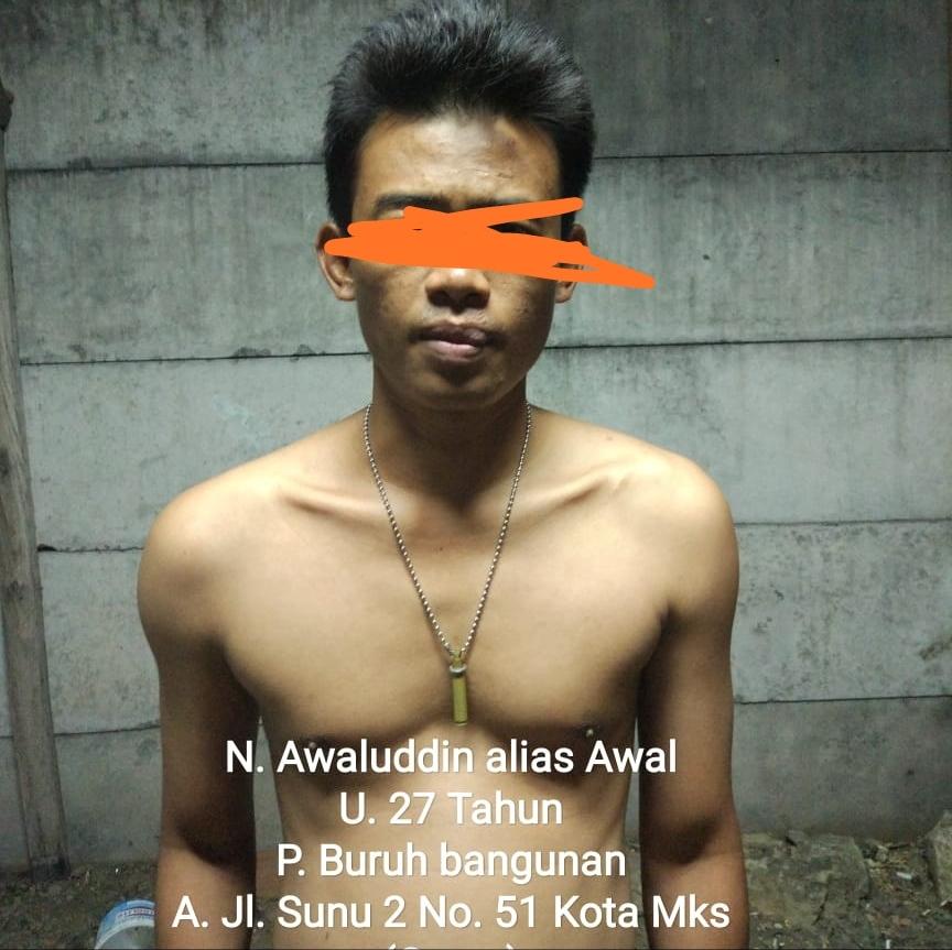 Resmob Polda Sulsel Ringkus Pelaku Jambret Yang Beraksi Jl. Sunu Makassar
