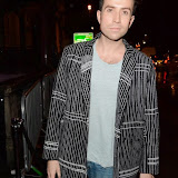 WWW.ENTSIMAGES.COM -    Nick Grimshaw   arriving at     Hairfinity - launch party at Il Bottaccio, London November 8th 2014Louisiana based hair and beauty brand Hairfinity celebrates its launch in the UK                                                    Photo Mobis Photos/OIC 0203 174 1069