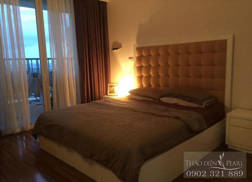 phòng ngủ 2 tại Thảo Điền Pearl view sông Sài Gòn
