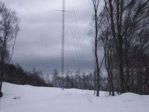 謎の電波塔(気象観測用らしいが)